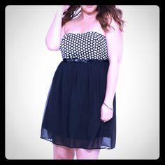 Torrid chiffon dress Sz 3 Like new! Has stretch back! Super cute torrid Dresses Mini