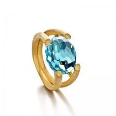 Nanis Bon Bon Collection Ring18K Gold ring with natural stone #deutschanddeutsch
