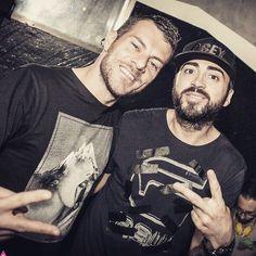 #MaxBrigante Max Brigante: Io e @therealvals vi aspettiamo questa sera al @hollywoodrythmoteque per la serata @mamacitaclub #milano #hiphop #reggaeton #partyhard