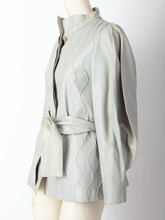Ronaldus Shamask jacket sleeve detail