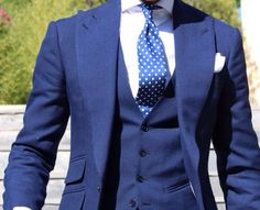 Absolute bespoke blue suit