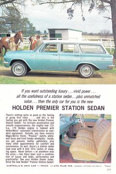 Classic Chevy Trucks, Classic Cars, Holden Premier, Holden Wagon, Chevy Truck Models, Holden Australia, Australian Cars, Car Brochure, Car Advertising