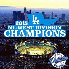 LA Dodgers - 2015 NL-West Champions!