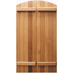 Custom Sized Board & Batten Shutters from Kestrel