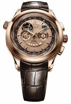 ZENITH - Grande Class Traveller Open Multicity. Новинки 2007 Watches For Men 090e8ea8af