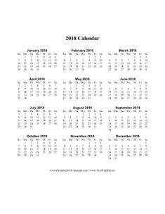One Week Calendar Template Word Template 11 2017 Calendar For Word Year At A Glance 1 Page .