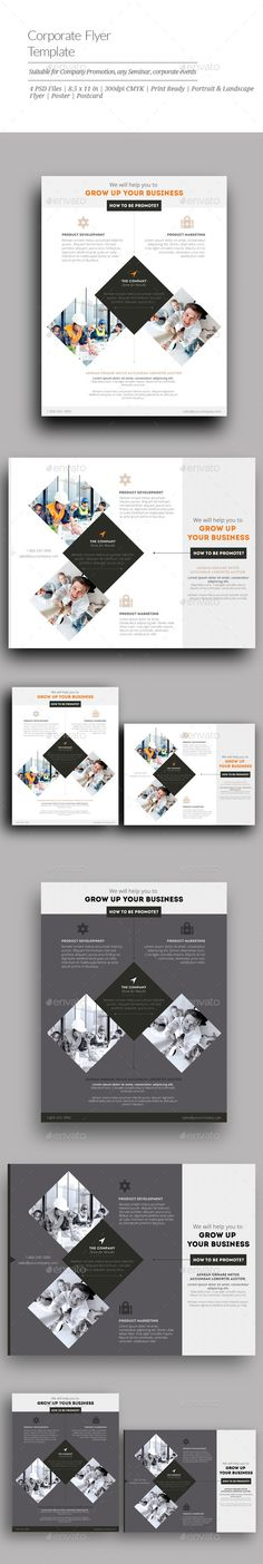 11 Best 10 Best Corporate Flyers Images On Pinterest Corporate