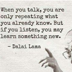 Shhhhh.....Listen