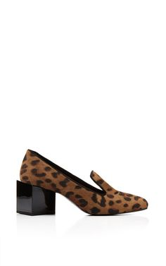 Kinks High Heel Loafer In Natural by Pierre Hardy for Preorder on Moda Operandi
