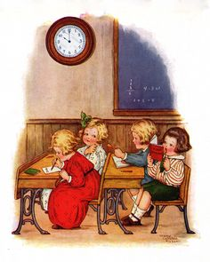 Story Book Sundays - Tick-Tock - Illustrated by Mary LaFetra Russell