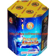19s Seven Angels (CA5019) Fireworks from CC FIREWORKS CO.LTD on YYUber.com