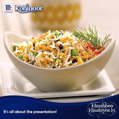 Give a little twist to your Saturday rice dish by plating it up differently. Don't forget to share pictures with us!