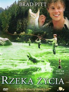 Rzeka życia (A River Runs Through It) DVD  #OSCAR za #zdjęcia.  #Film Roberta Redforda.  #Rzekazycia, #ARiverRunsThroughIt, #RobertRedford, #BradPitt, #DVD