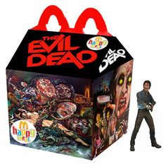 Da Evil Dead a Nightmare - 25 Happy Meal McDonald da film horror Natural Born Killers, Cult Movies, Scary Movies, Ghost Movies, Kill Bill, Michael Myers, Blade Runner, Happy Meal Box, Best Horrors