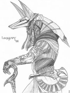 Stargate Warrior Anubis by The-Art-of-Stargate on DeviantArt