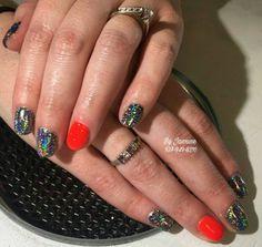 #galaxyholo #beauty #salon #bellanailbar