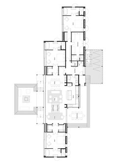 Gallery of Annandale Scrubby Bay / Pattersons - 12 Layouts Casa, House Layouts, Apartment Floor Plans, House Floor Plans, Drawing House Plans, Large Floor Plans, Architectural Floor Plans, Villa Plan, Shed Homes