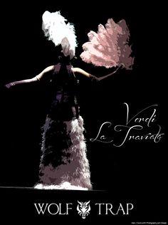 Traviata - Violetta è Corinne Winters, Alfredo Benjamin Bliss, con la National Symphony Orchestra diretta da Grant Gershon I Wolf Trap Opera Company, Luglio 2013 #VerdiMuseum