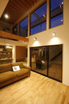 オープンハウス – capa – - 名古屋市の住宅設計事務所 フィールド平野一級建築士事務所 Home And Deco, Sunroom, My House, Entrance, Home Goods, Interior Decorating, Sweet Home, Backyard, Cool Stuff