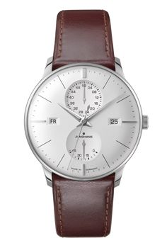 Ref. Nr. 027/4364.00 - First built in the 1930s and improved by further refinements into the 1960s today, the elegant Meister watches bear eloquent witness to Junghans' expertise in mechanical watchmaking.