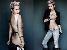 Miley Cyrus by Mario Testino