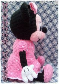 Image gallery – Page 532198880965576018 – Artofit Crochet Disney, Crochet Mickey Mouse, Minnie Mouse Doll, Crochet Dolls Free Patterns, Amigurumi Patterns, Patron Crochet, Crochet Monkey, Stuffed Animal Patterns, Amigurumi Doll