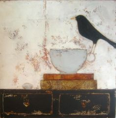 "anji allen      This artist is new to me.  I really like her work.   the simplicity, the ""feel"" ..........."