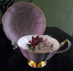 Vintage Tea cup and saucer Queen Anne Bone China England | eBay