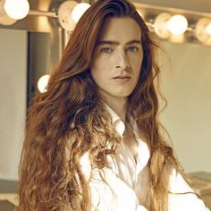 EDWARD BESS has the best hair in the beauty business! He was a model and now owns makeup and hair products containing Black Sea mineral water which he swears gives him this hair even women envy!!