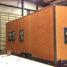 A Tiny is born... See composite construction in the making! #tinyhouse http://TranscendTinyHomes.com/