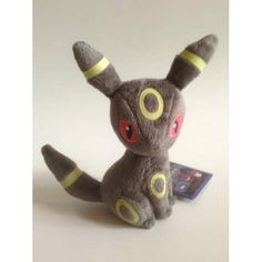 Pokemon 2013 Banpresto UFO Game Catcher Prize I Love Gothic Series #1 Umbreon Plush
