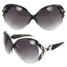 MLC Eyewear TU9231BKCLPB Retro Oval Fashion Sunglasses Black and Clear 2tone Frame Purple Black Lenses for Women and Men. MLC Eyewear. $11.99