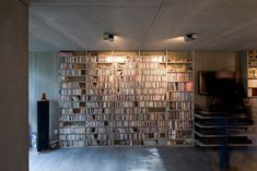 Image 12 of 31 from gallery of House extension / Christophe Nogry. Photograph by Stéphane Chalmeau House Extensions, Bookcase, Diy Crafts, How To Plan, Architecture, Gallery, Building, Projects, Houses