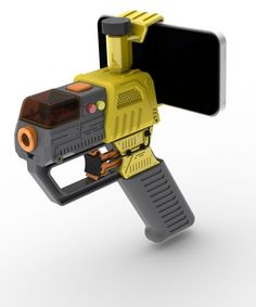AppTag turns your smartphone into a laser tag game. You can even attach it to a Nerf Gun!