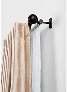Amazon.com: Better Homes and Gardens Double Curtain Rod, Oil Rubbed Bronze Size 36-66: Home & Kitchen