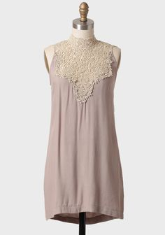Modern Austen Tunic Dress | Modern Vintage Dresses.......more Sybil Crawley than Elizabeth Bennet, but still so beautiful!