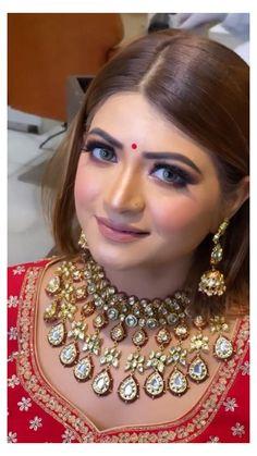 Bridal Makeup Videos, Bridal Makeup Images, Wedding Eye Makeup, Best Bridal Makeup, Bridal Makeup Looks, Bride Makeup, Bridal Looks, Indian Wedding Makeup, Indian Eye Makeup
