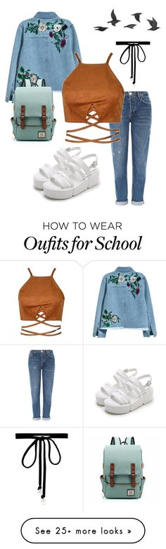 """""""Wishing I was cool"""" by jessieroxyeah on Polyvore featuring Jayson Home, H&M, Topshop and Joomi Lim"""