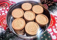 Christmas cinnamon biscuit (for cookie stamp) - Dessert Recipes Smoothie Fruit, Cinnamon Biscuits, Hungarian Recipes, Xmas Cookies, Xmas Food, World Recipes, Sweet Cakes, Winter Food, No Cook Meals