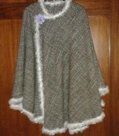 Handmade by Sheila angolo creativo: Tutorial cucito: mantella in lana profilata all'un...