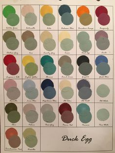 See samples of over 961 variations of mixed Chalk Paint® Decorative Paint by Annie Sloan 1:1. Vintage Now Modern, an Annie Sloan Stockist in Greenville, SC.