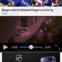 Made it on http://nhl.com ! So cool! Thanks @nhl #becauseitsthecup #myplayoffmoment #disciplerocks