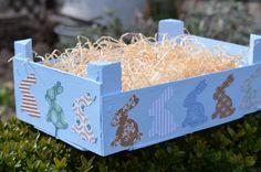 DIY - Osterkorb/-nest aus Mandarinenkiste