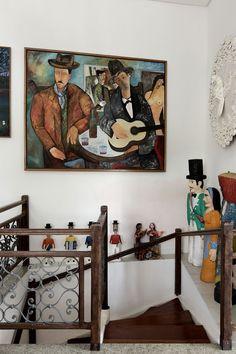 Arte e boemia em lar recifense. Folclore e despojamento predominam em décor