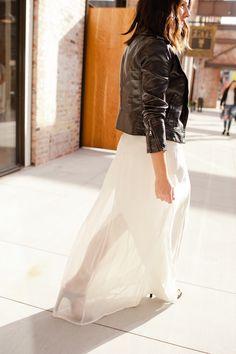 white maxi dress, wa