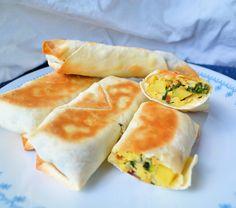 greenhorn gourmande: Breakfast Egg Rolls