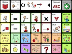 Another very nice AAC app from an established AAC maker. Works both on ipad and iphone. They have dedicated device too.
