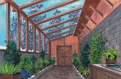 Tips for constructing a greenhouse that is attached to your house:) #conservatorygreenhouse