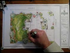 If you live in a dry and arid climate then your desert landscaping is going to take a little more planning than some other parts of the country. desert landscaping will have to work with a plan that includes only plants and trees that Simple Landscape Design, Landscape Design Plans, Landscape Sketch, Garden Design Plans, Landscape Drawings, Architecture Drawings, Landscape Architecture, Rendering Architecture, Architecture Diagrams