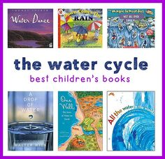 these books are perfect for teaching the water cycle!
